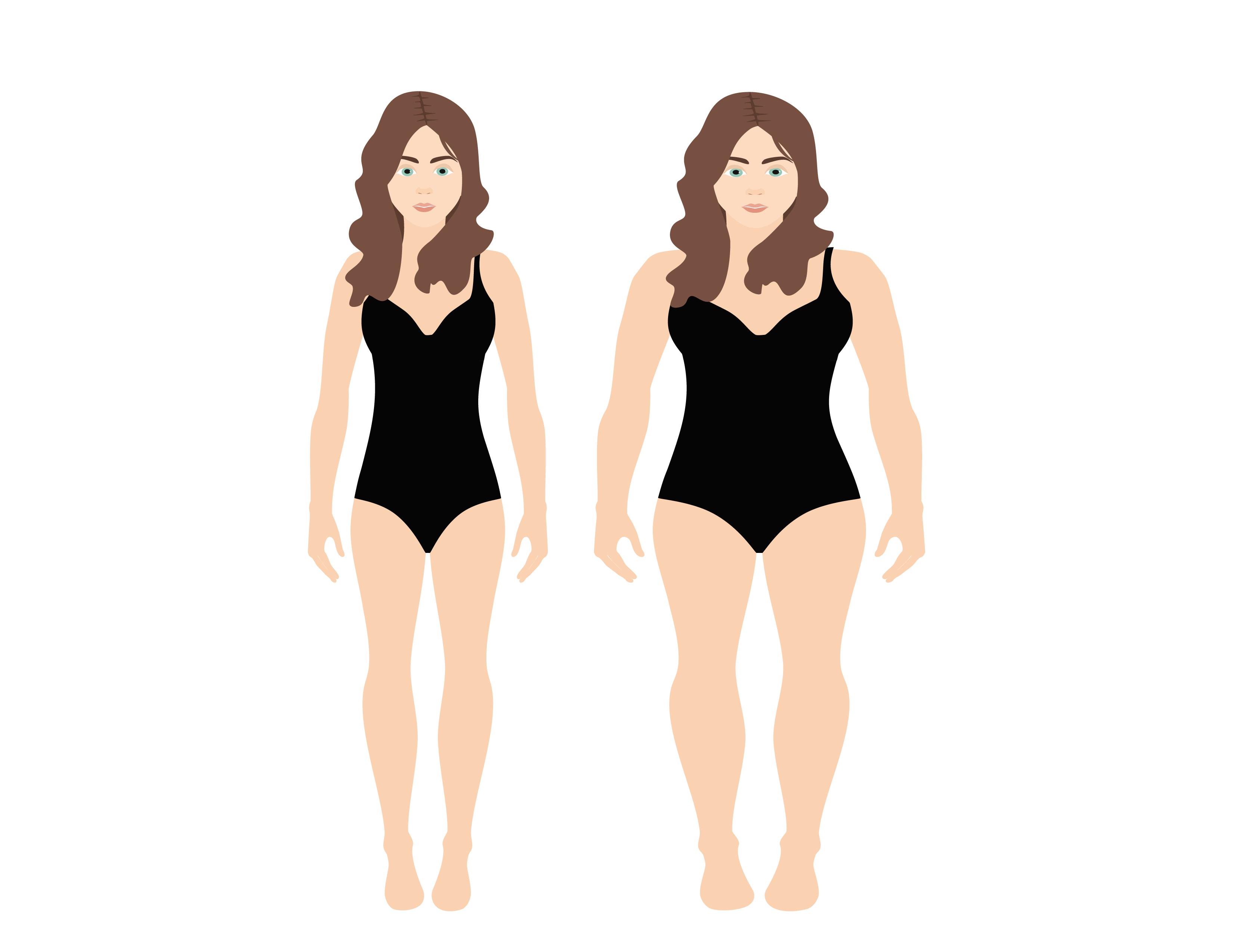 Plan de slabit in functie de forma corpului - cocarde-nunta.ro, inspiratie zi de zi