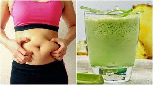 Băutură pentru stimularea metabolismului cu ghimbir