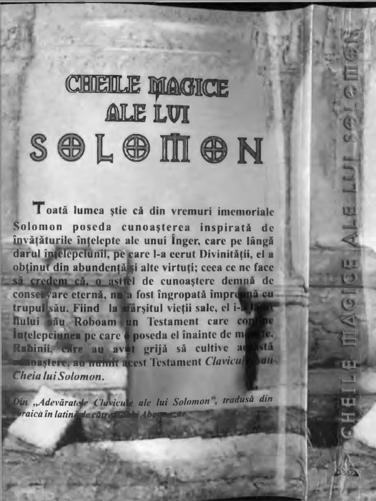 1926001.70592 Cheile Magice Ale Lui Solomon0001