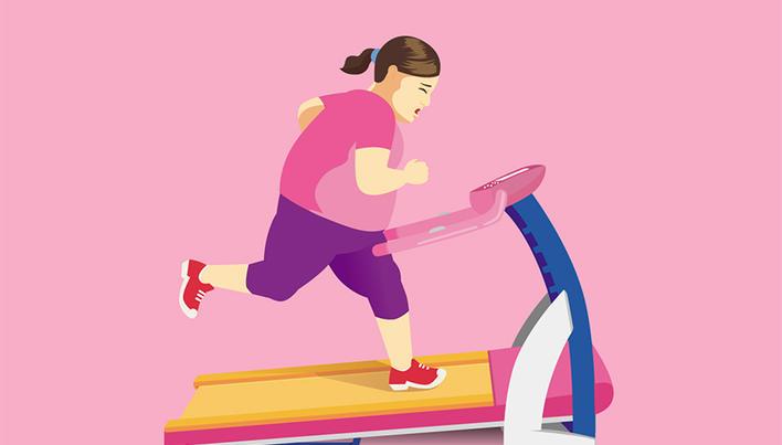 se pot opri perioadele din cauza scăderii în greutate