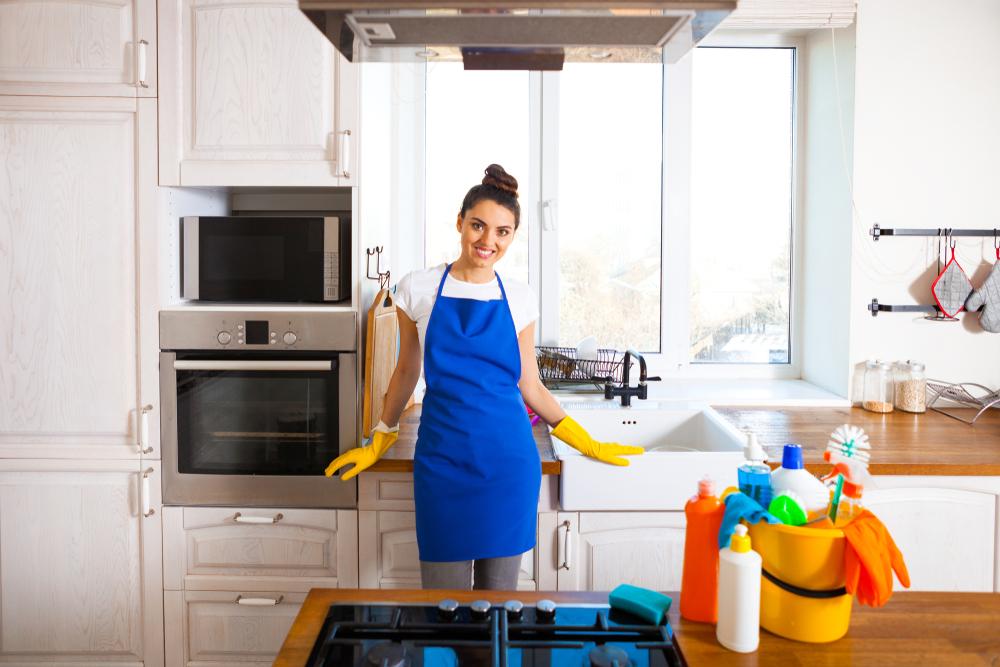 Solutii naturale pentru curatarea grasimii din bucatarie