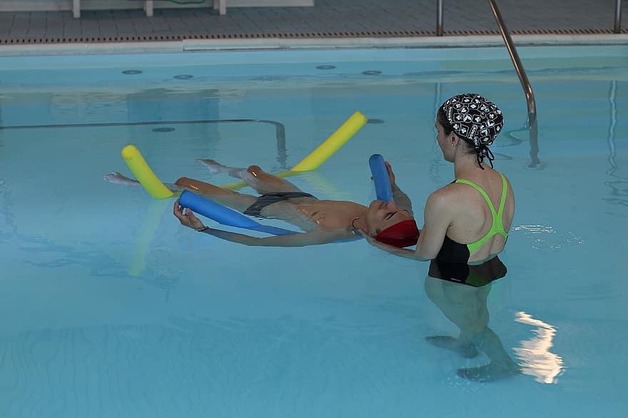 pierderea în greutate a piscinei