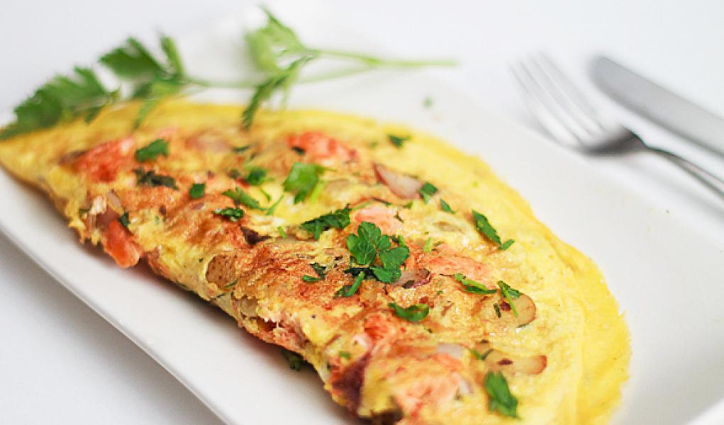 Cea mai bună omletă dietetică cu ton