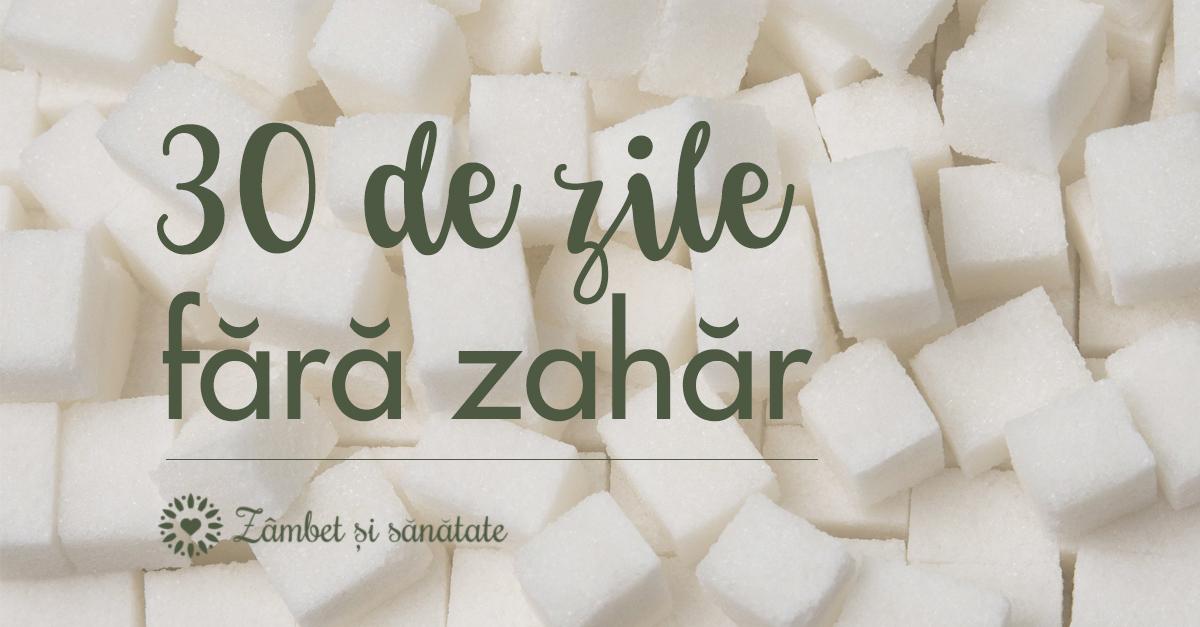 EXPERIMENT: 7 zile fără zahăr