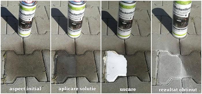 Gradina practică: Îndepărtați petele de pietre și pavaje din beton - așa funcționează |
