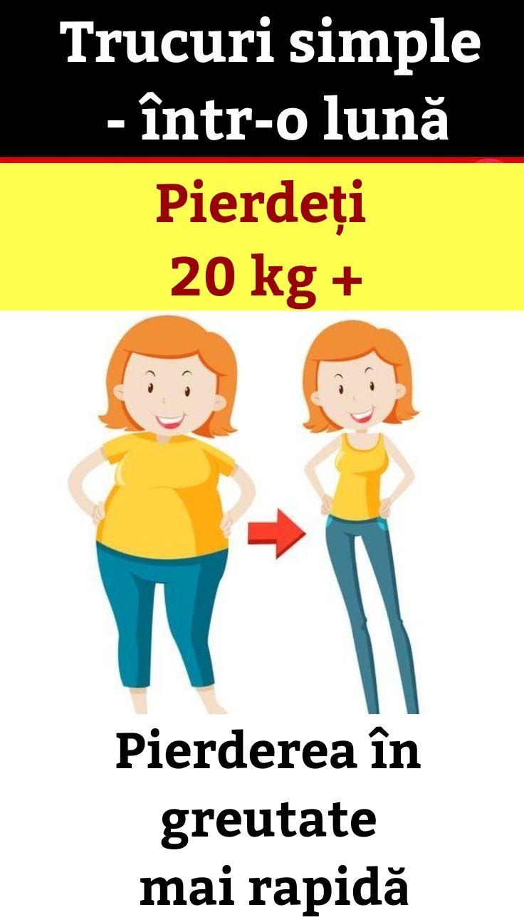 pierdere în greutate într o lună)