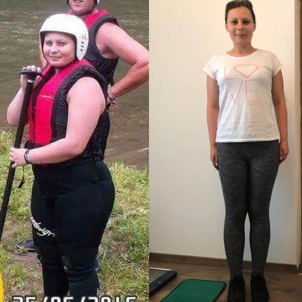 Povestea mea de pierdere în greutate